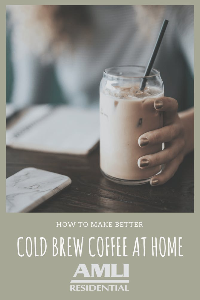 Make Better Cold Brew Coffee at Home