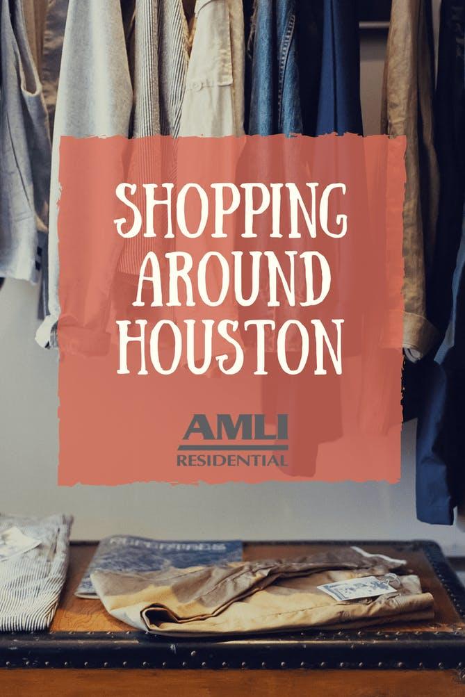 shopping around houston
