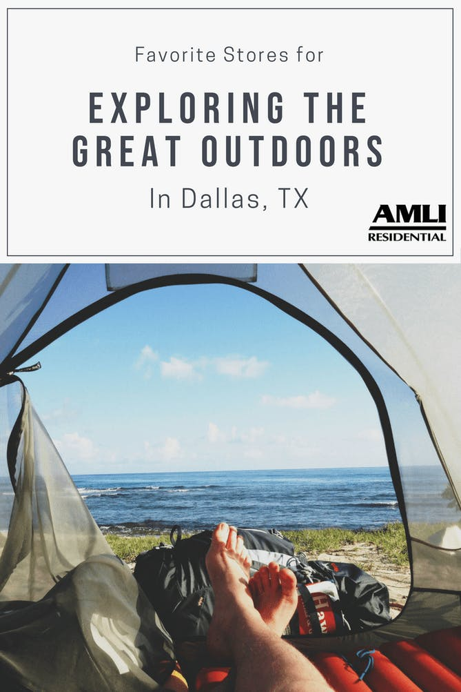 Stores for Exploring the Great Outdoors in Dallas