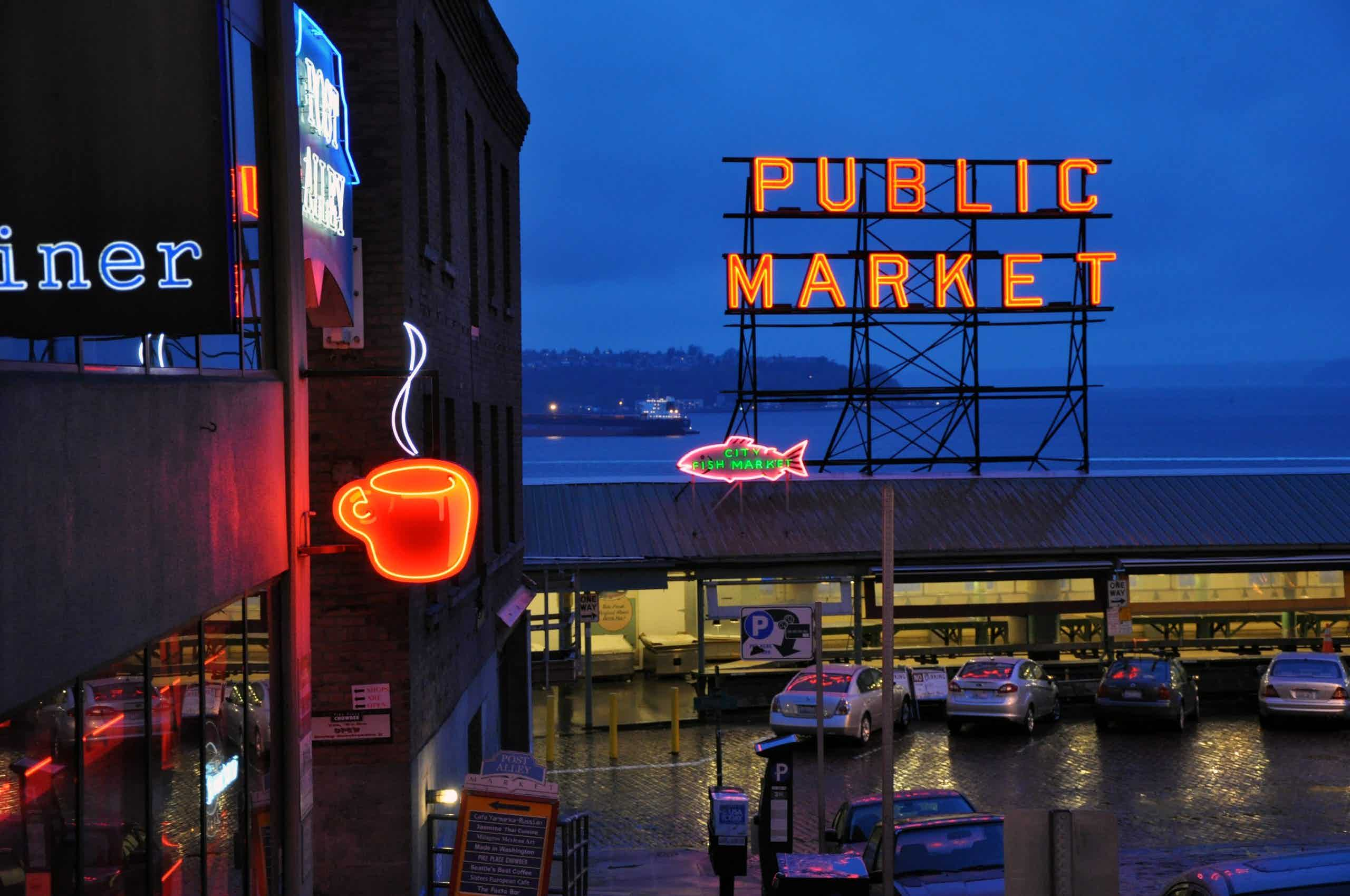 Makret Grill at Pike Place
