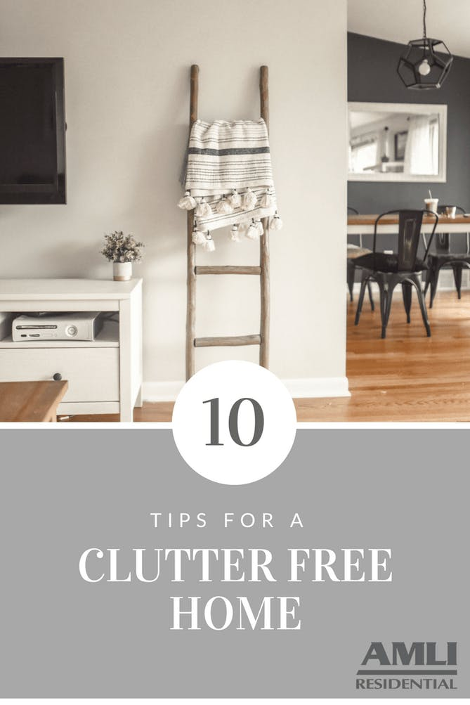 Tips for a Clutter-Free Home