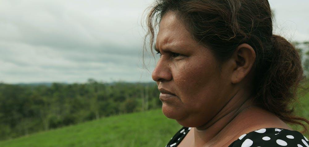 Francisca Ramírez is an environmental activist in Nicaragua