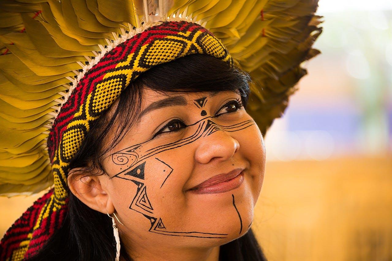 Celia Nunes Correa, activiste du peuple des Xakriaba ®All rights reserved