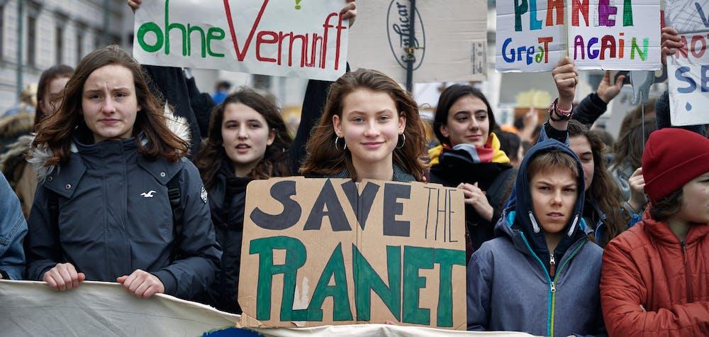 "Manifestation ""Fridays for Future"" à Vienne"