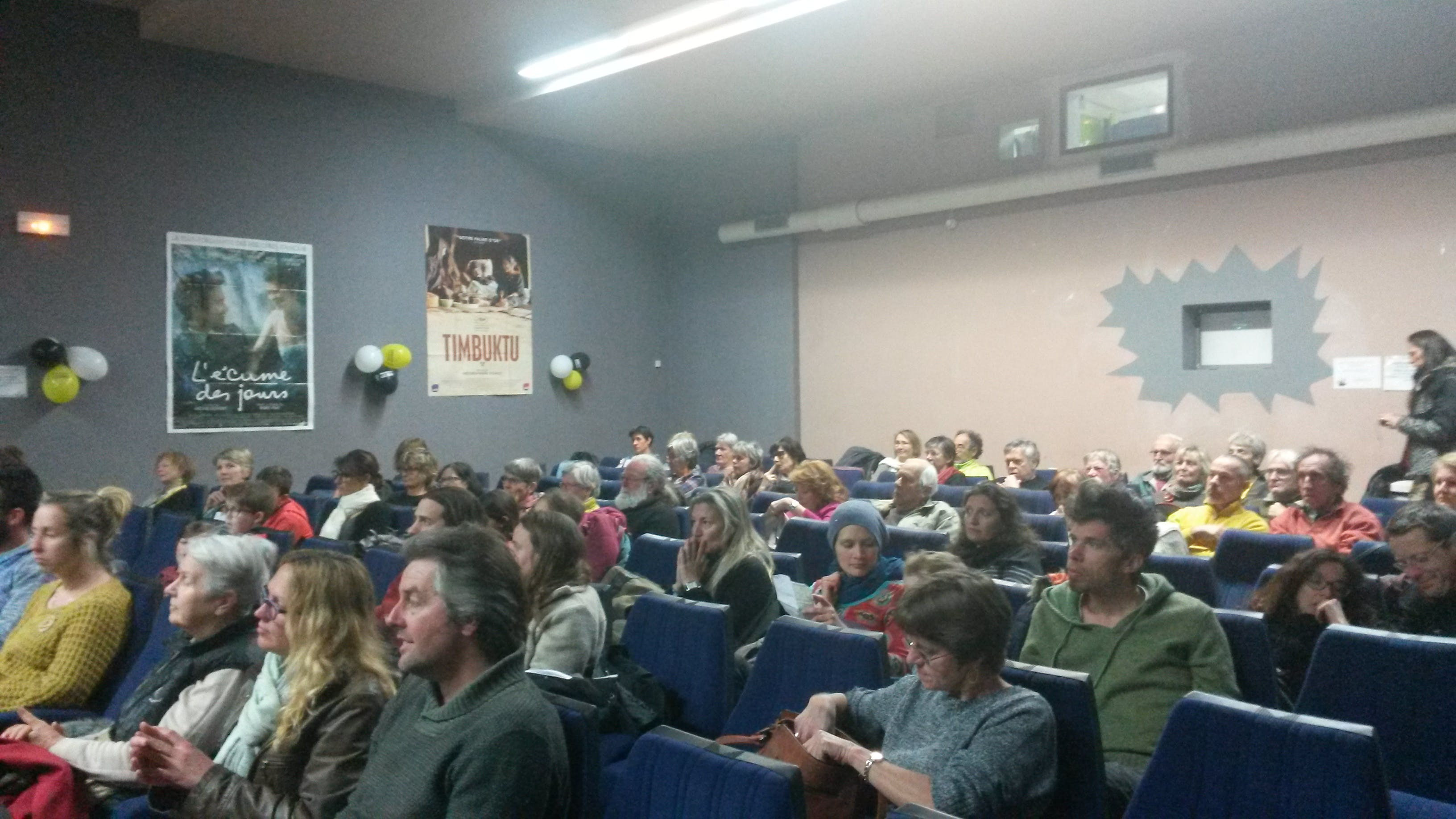 Festival au cinéma pour les droits humains