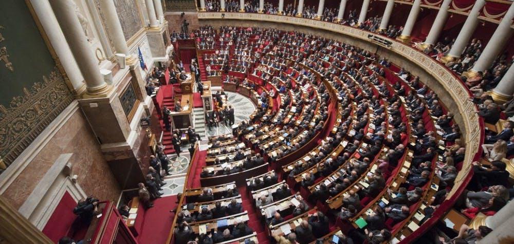 Hémicyle de l'Assemblée Nationale