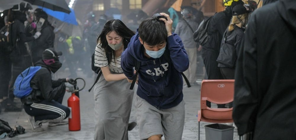 Hong Kong manifestation 2019