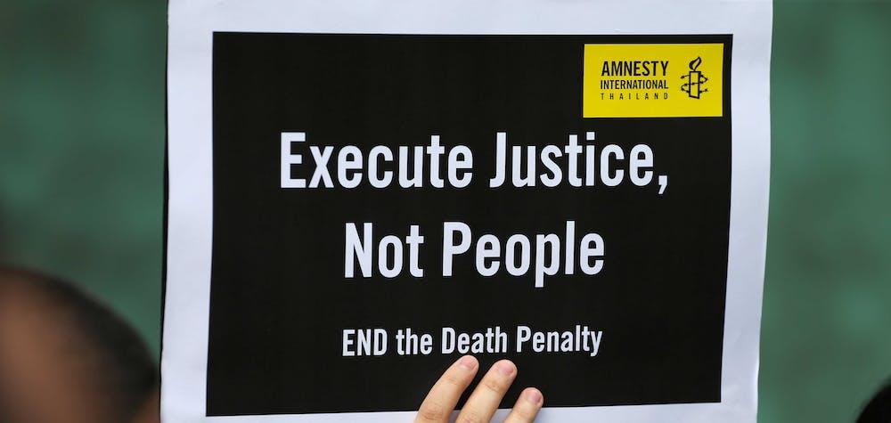 Manifestation contre la peine de mort ©
