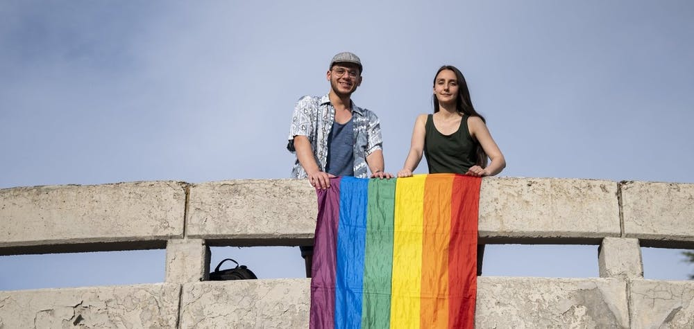 Since May 2011, LGBTI+ students at the Ankara based Middle East Technical University (METU), like Melike Balkan and Özgür Gür, have held an annual march on campus to celebrate Pride without any restrictions. In 2018, university authorities attempted to ban the march, citing the blanket ban on all LGBTI events in the capital that had been introduced in November 2017. Their attempt was thwarted however, and the students held the march.  In May 2019, when students again attempted to hold the march, the university management called the police onto campus. The police violently broke up the gathering using pepper spray, plastic bullets and tear gas and detained 21 students and an academic. 18 of the studentsm including Melike and Özgür, and the academic are facing prosecution under the Law on Meetings and Demonstrations. If convicted, they could face a lengthy prison sentence, simply for having exercised their right to freedom of assembly.