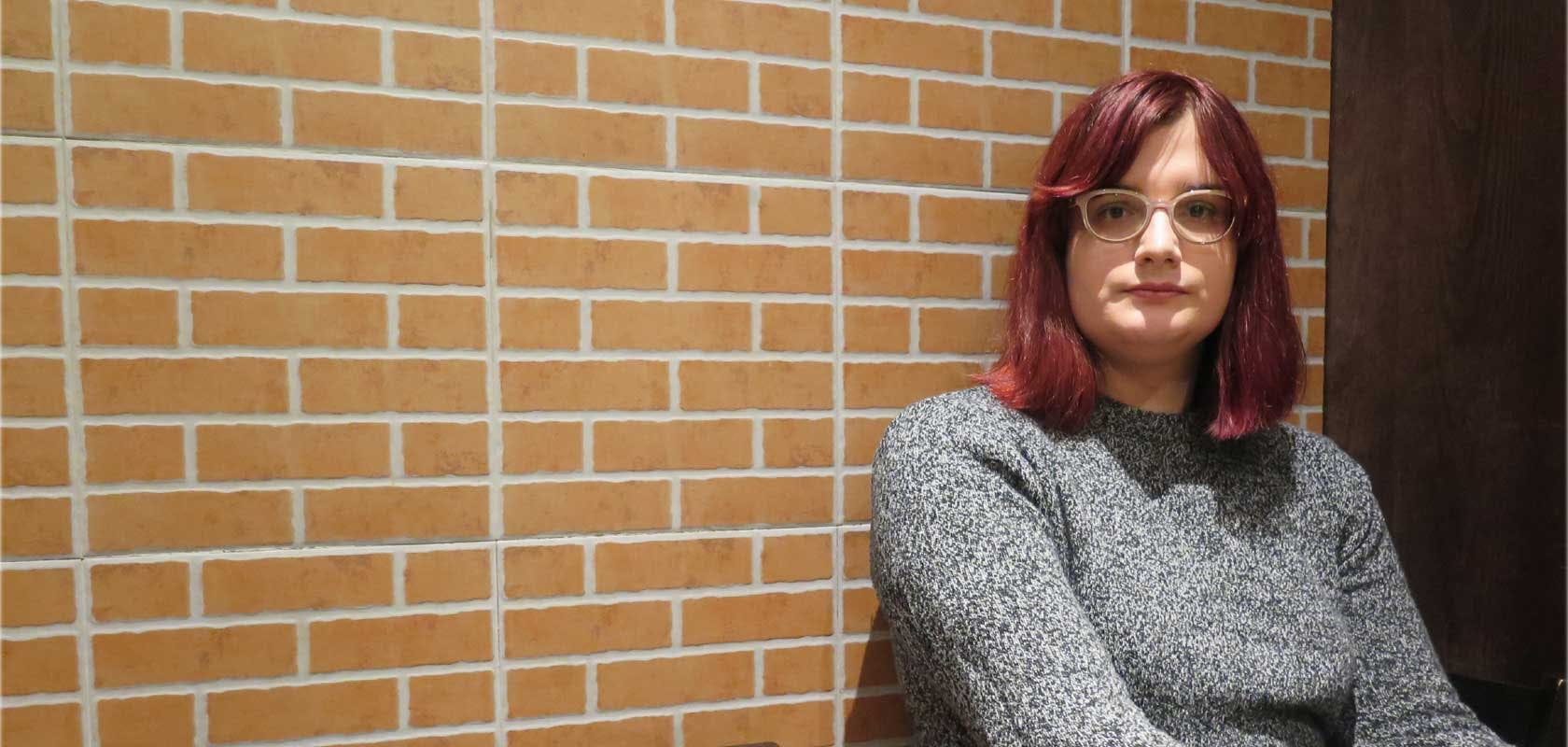 Cassandra Vera, étudiante de 22 ans,condamnée à un an d'emprisonnement avec sursis en 2017 © Amnesty International