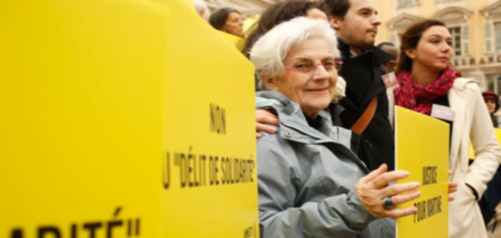 73 year-old amnesty activist, Martin Landry faced criminal charges and a prison term of up to 5 years just for helping two Guinean minors at the French-Italian border in 2017.