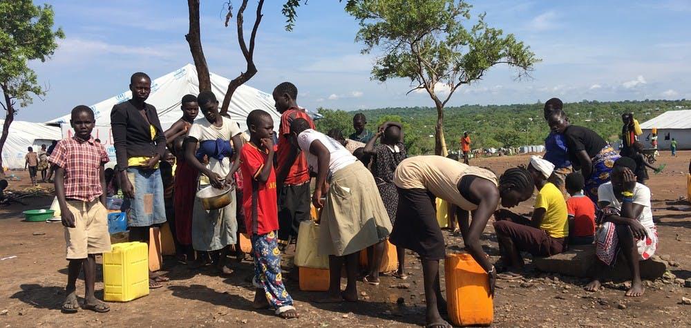 Des réfugiés de la région d'Équatoria au Soudan du Sud réfugiés en Ouganda