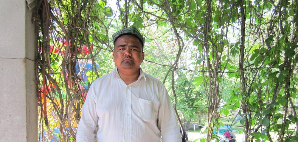 Homme ouighour détenu en Chine