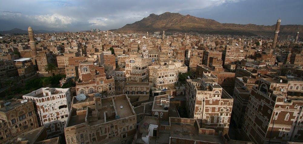 Ville de Saana - Yemen