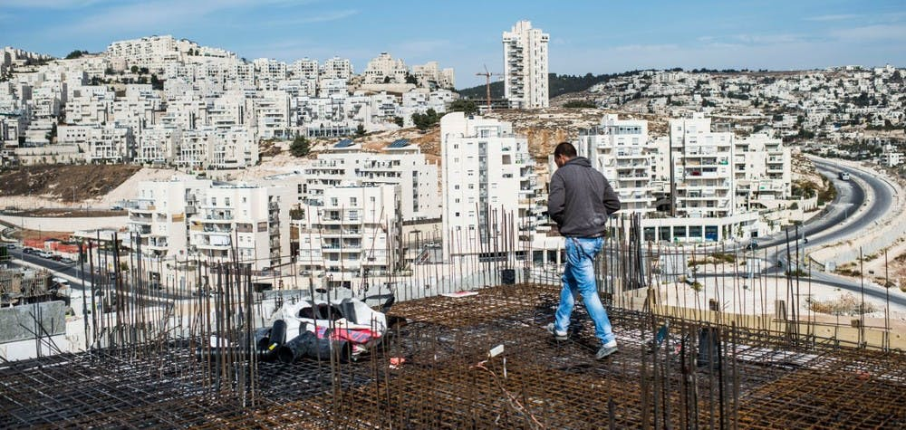 Le gouvernement israélien a prévu la construction de plus de 1000 nouvelles habitations à Jérusalem-Est