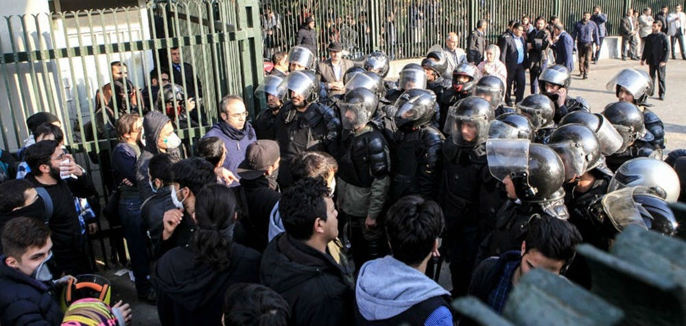 Manifestation en Iran © Getty Image