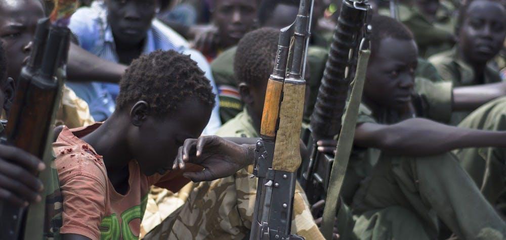 En 2014, l'Ukraine a donné son feu vert à l'exportation de 830 mitrailleuses légères et 62 mitrailleuses lourdes à destination du Soudan du Sud © CHARLES LOMODONG/AFP/Getty Images