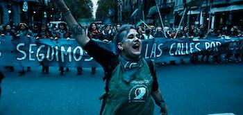 """Femmes d'Argentine"""