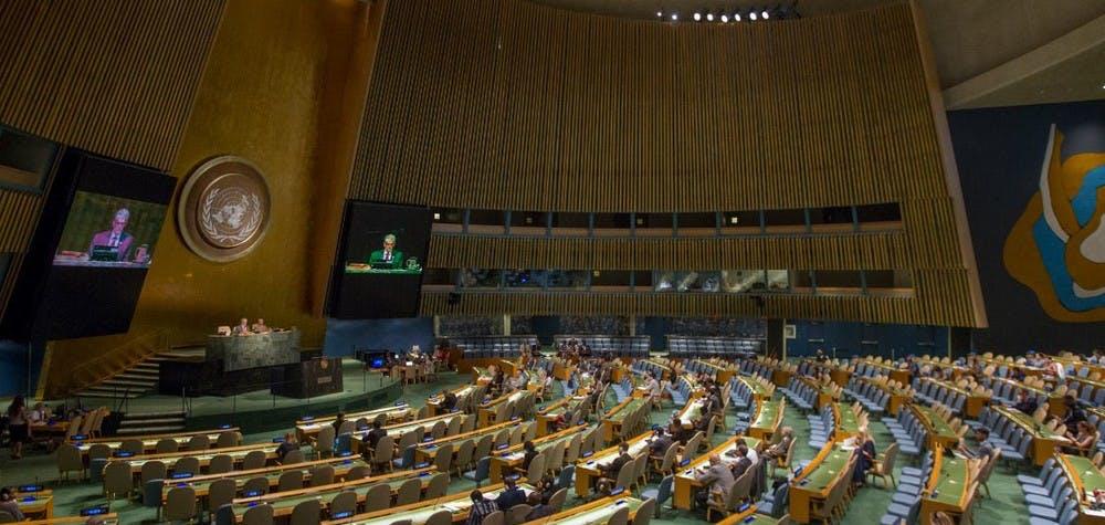 Nations unies juillet 2016