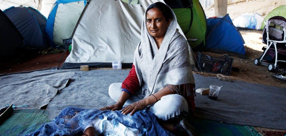 Réfugiés pakistanais en Grèce