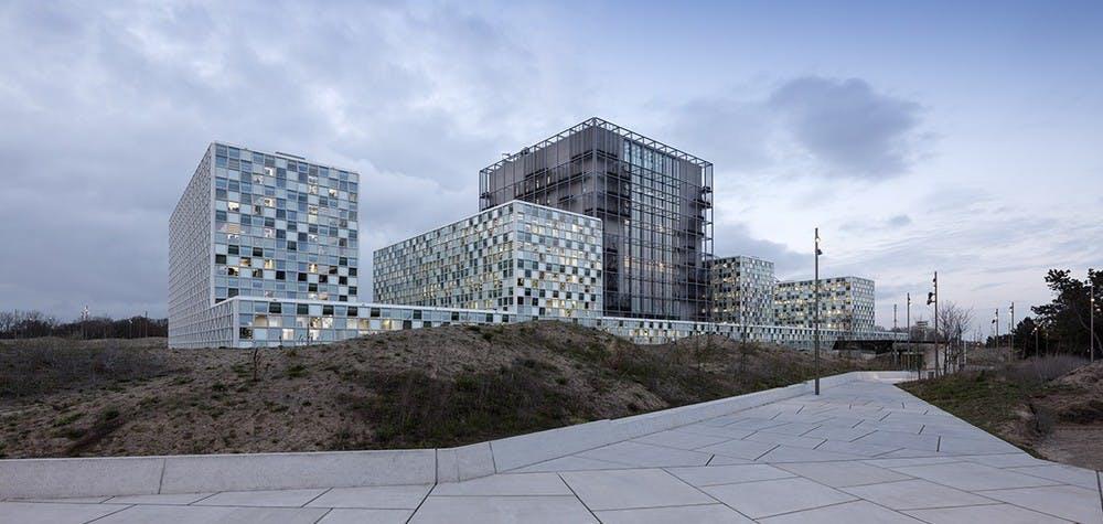 Nouveau bâtiment de la Cour pénale internationale