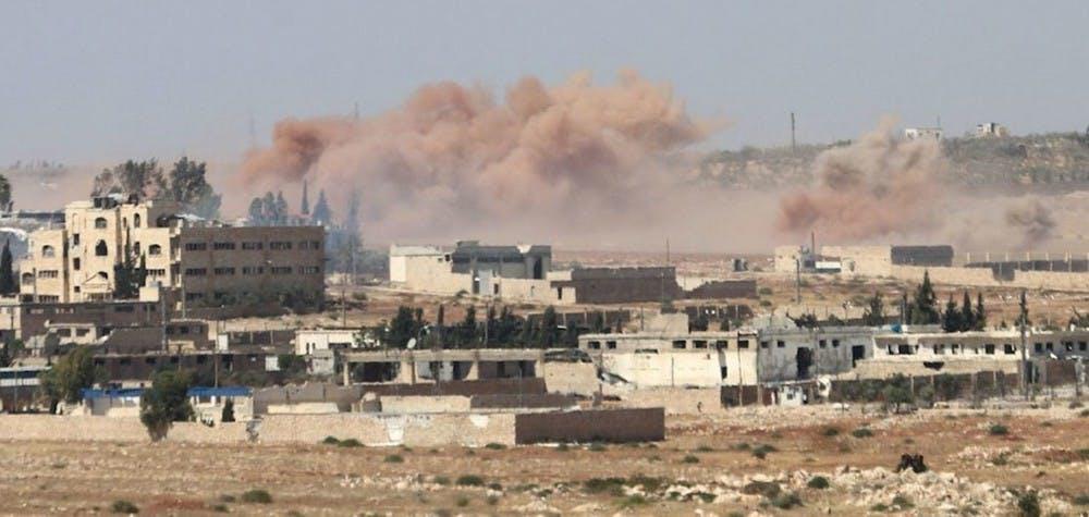 Alep sous les bombardements