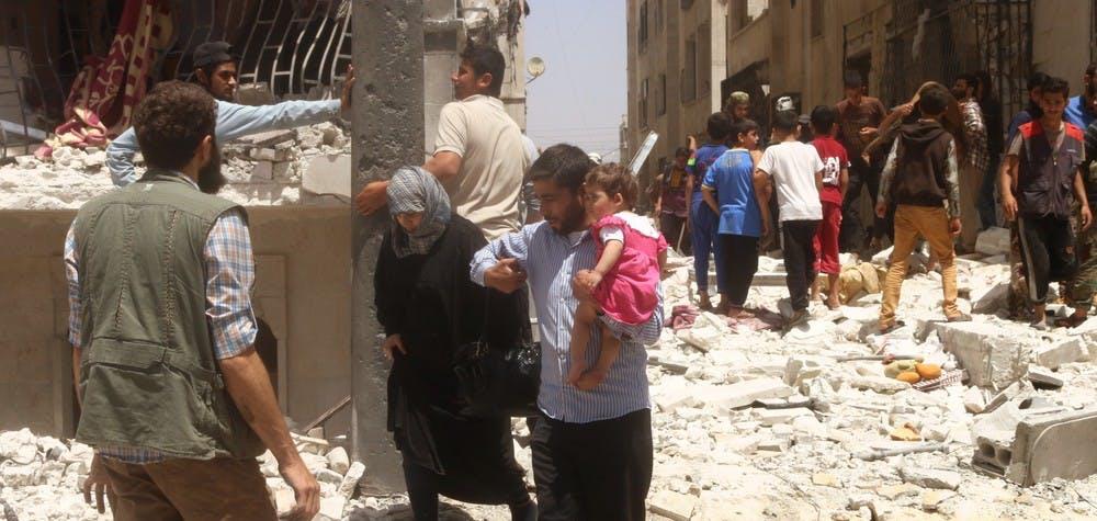 Une explosion a fait 2 morts et 50 tués à Idlib
