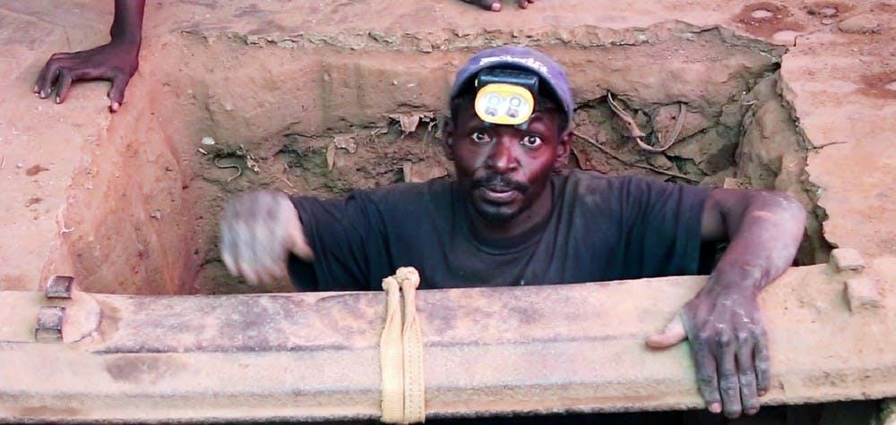 Extraction de cobalt en RDC