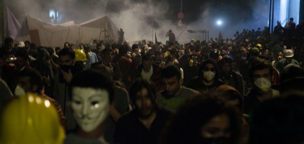Manifestations sur la place Taksim et au parc Gezi en 2013