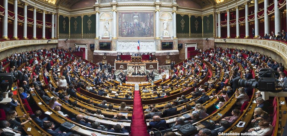 hémicycle assemblée nationale  © Assemblée Nationale