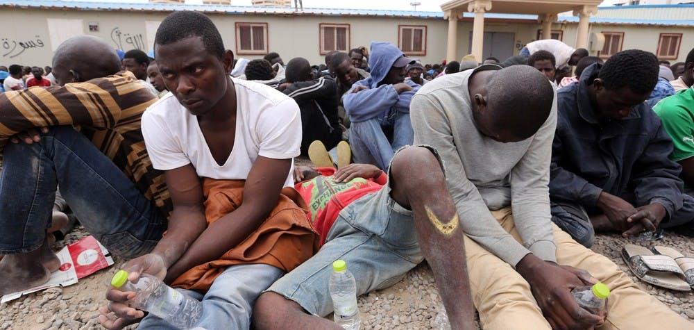 La traversée de la Libye est un véritable enfer pour les réfugiés et les migrants © Getty