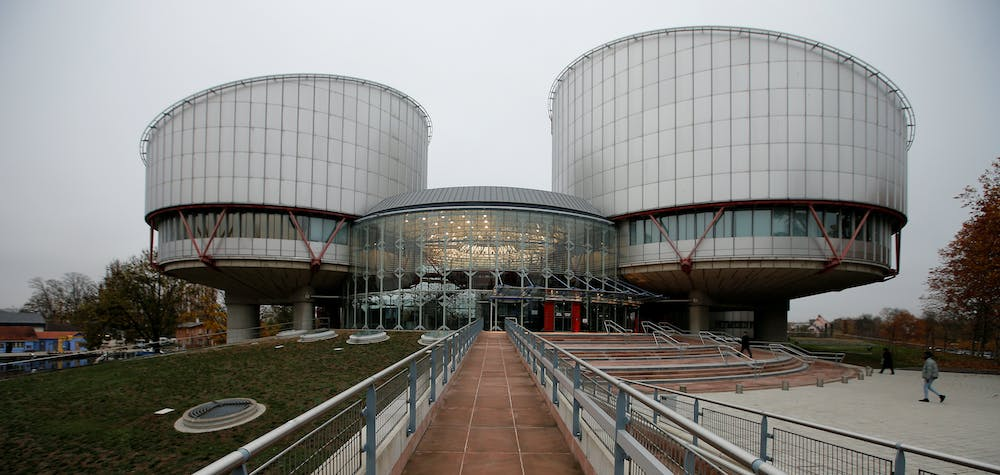 The building of the European Court of Human Rights is seen ahead of the judgment regarding in the case of Russian opposition leader Alexei Navalny against Russia at the court in Strasbourg, France, November 15, 2018. REUTERS/Vincent Kessler