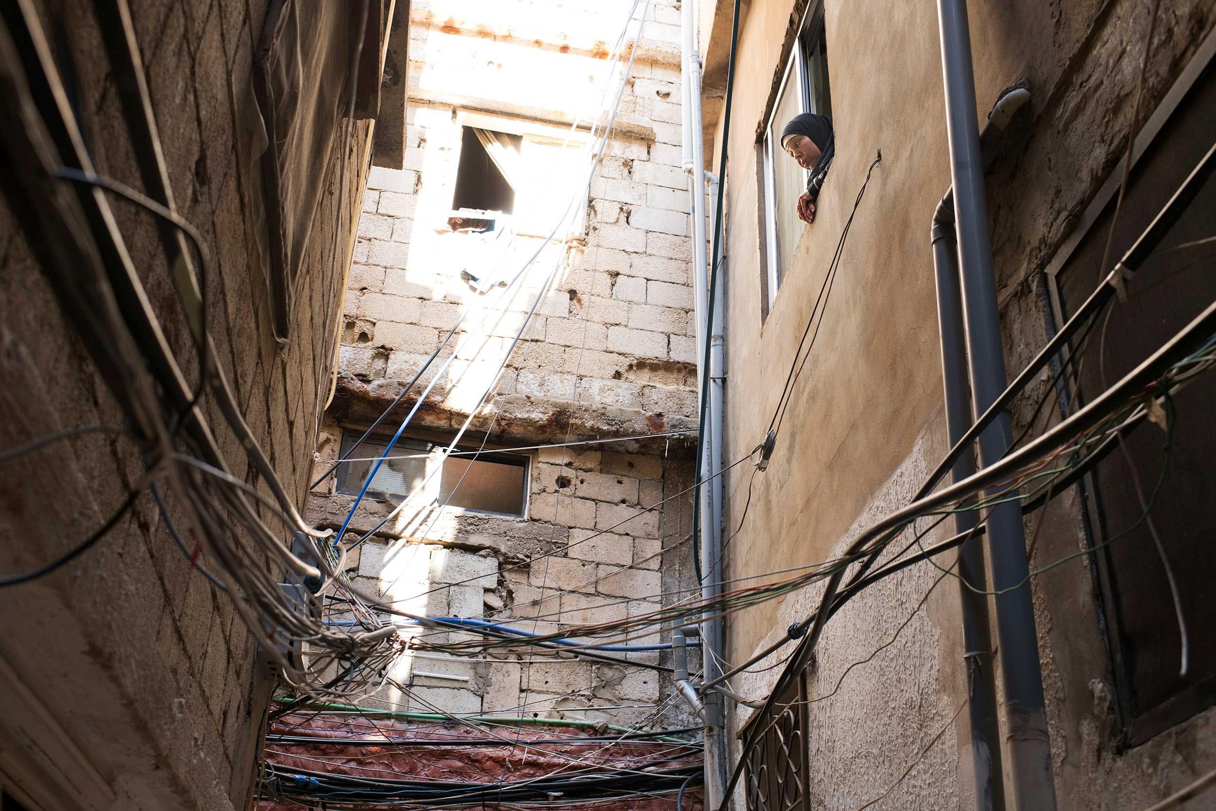 Réfugiés palestiniens au Liban