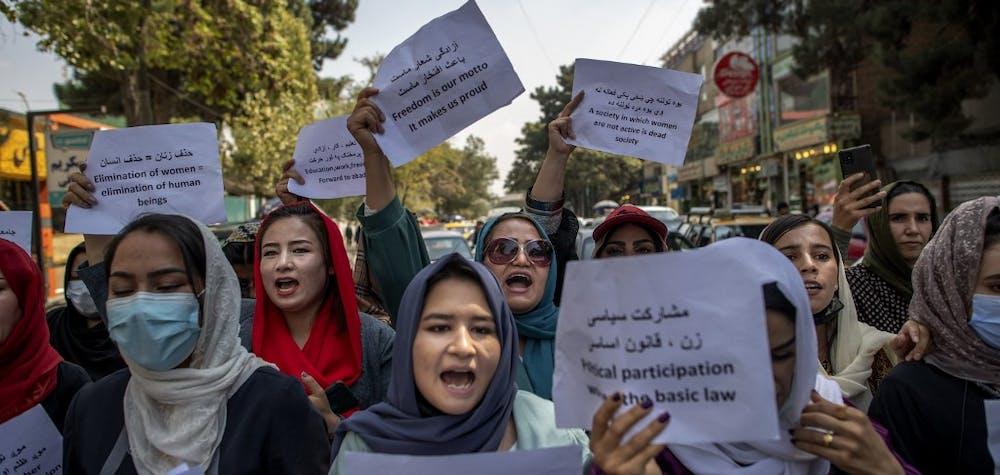 Femmes afghanes Kaboul septembre 2021