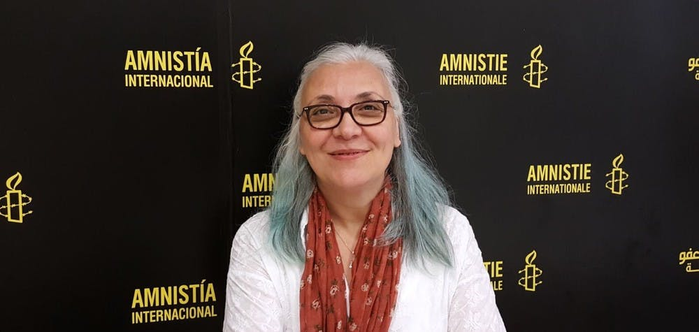 Idil Eser, directrice d'Amnesty Turquie