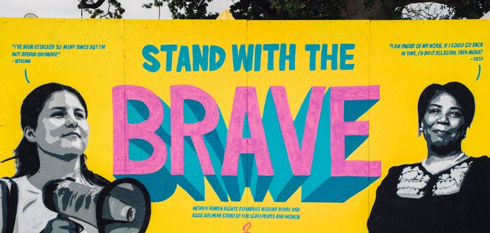 Stand with the brave