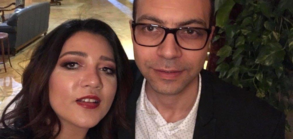 Amal Fathy et son mari