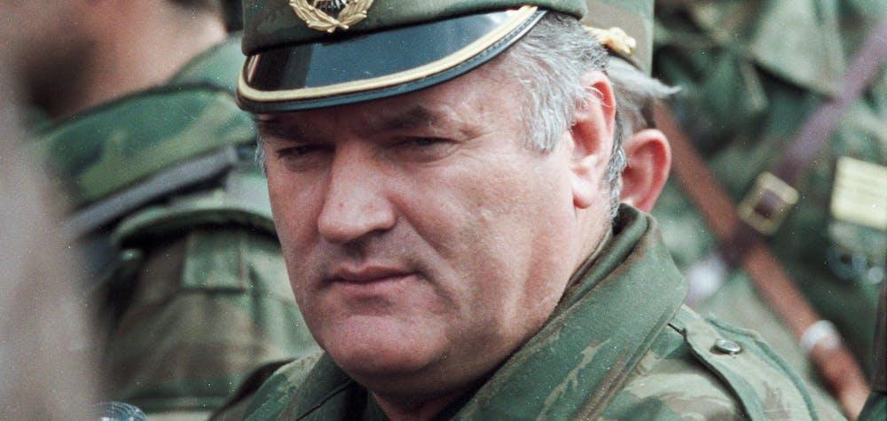 Ratko Mladic, avril 1993
