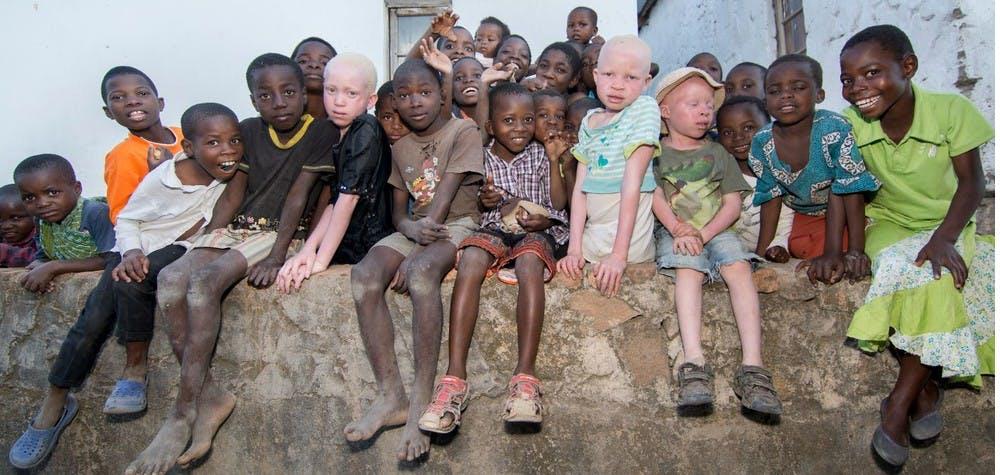 Annie Alfred et les enfants de son école - Malawi