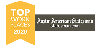 Amplify Credit Union was name one of the Top Workplaces of 2020 by the Austin American-Statesman.
