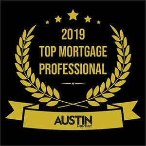 Amplify Mortgage Loan Originator Todd Stiles named a 2019 Top Mortgage Professional by Austin Monthly.