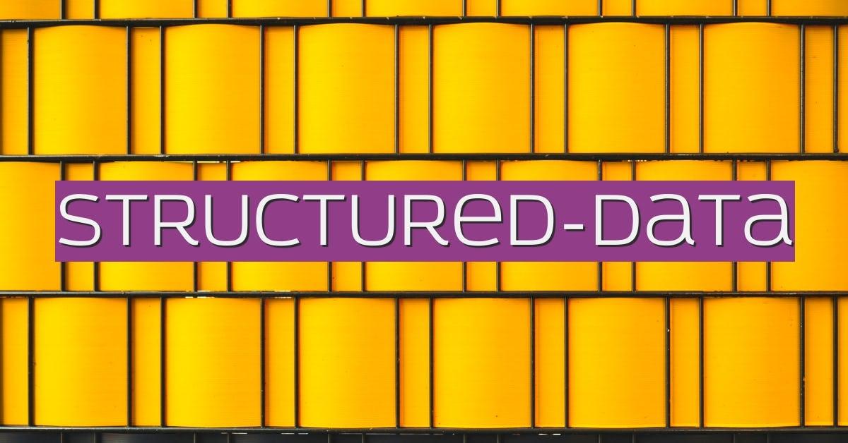 structured-data