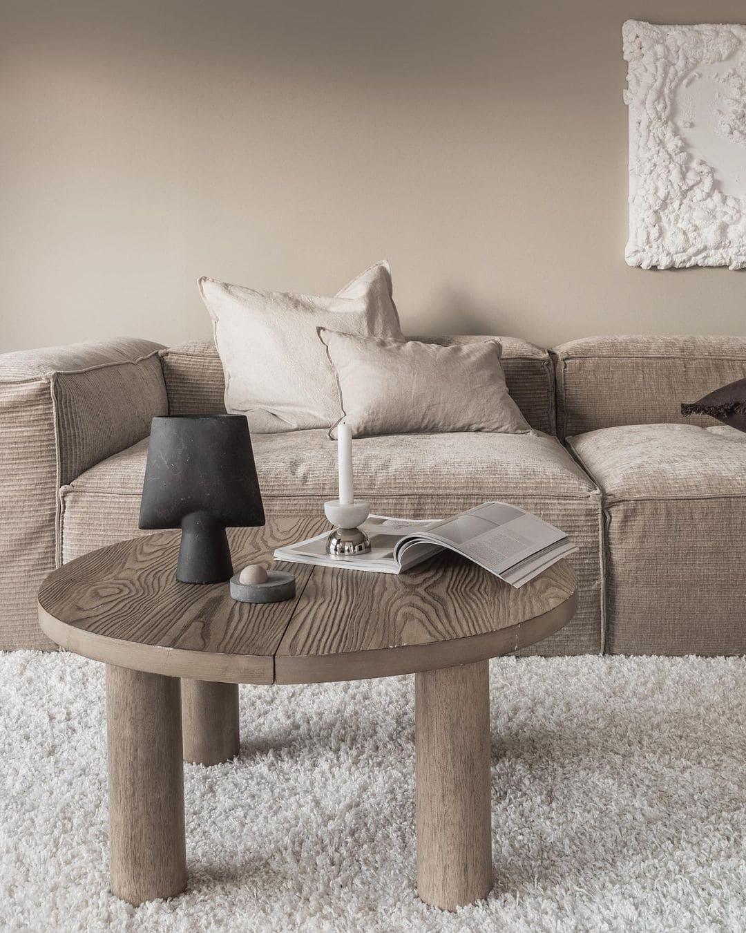 sofa de pana
