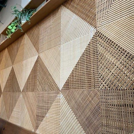 material reciclado parecido a la madera