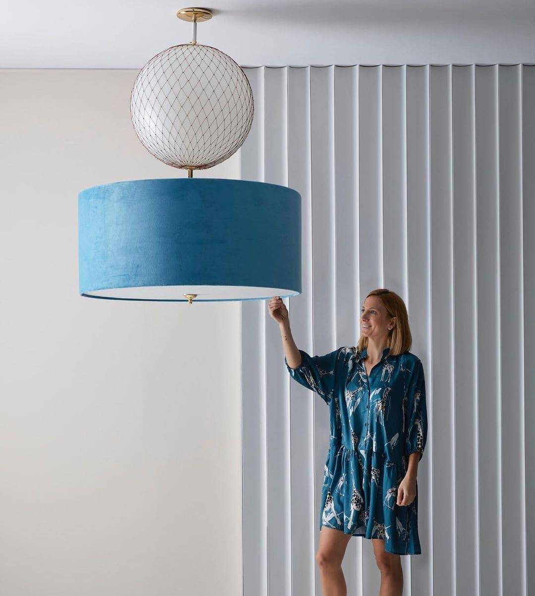lámpara de Peralta