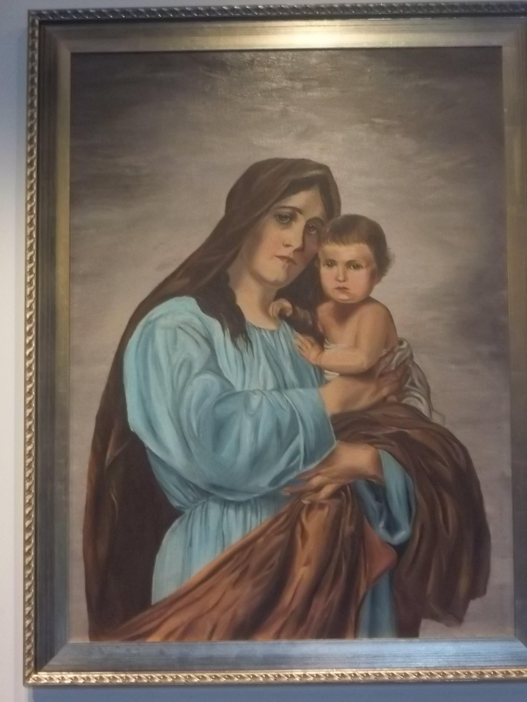 Madona su kūdikiu