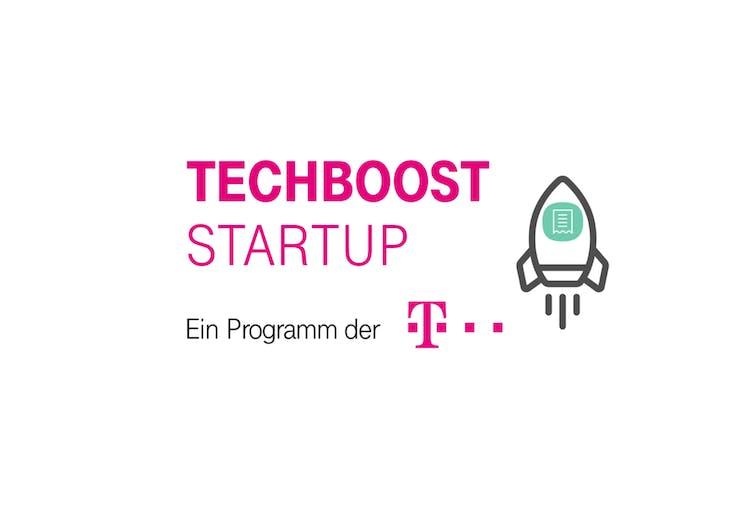 Aufnahme im Startup-Programm der Telekom Techboost