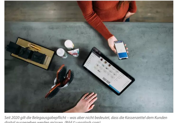 Belegausgabepflicht – kilometerweise Kassenzettel? Billomat und anybill klären auf.