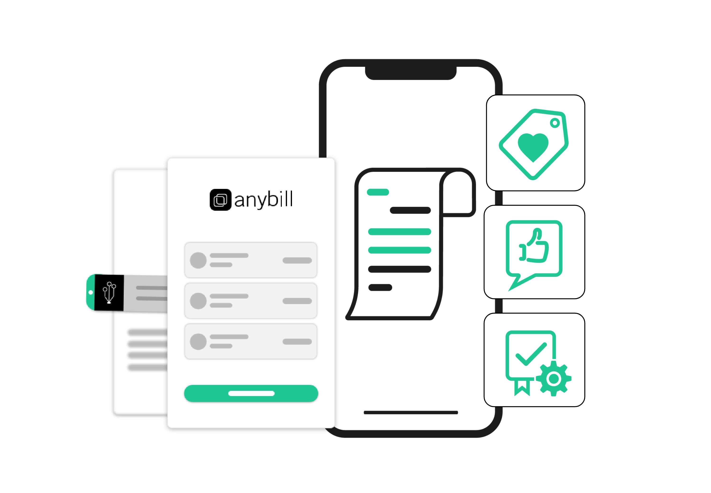 Software Development Kit und White Label Lösung von anybill