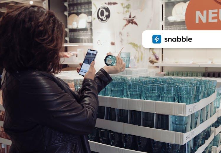 Snabble – Scan & Go Self-Checkout für den Handel der Zukunft